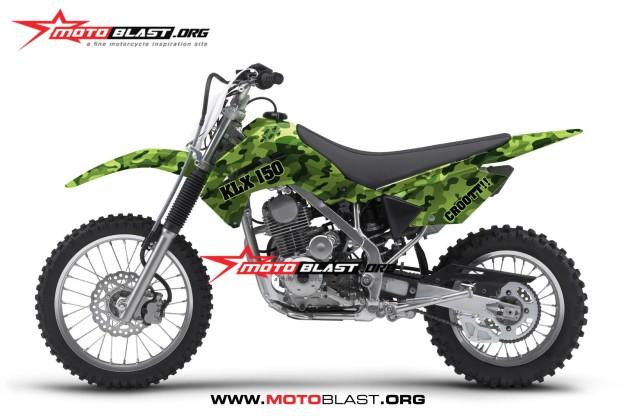 KLX 150-army2