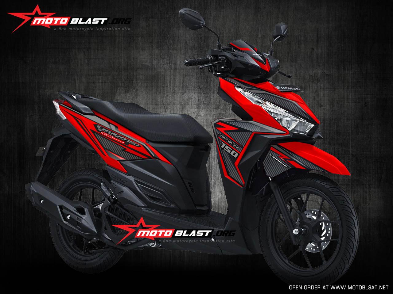 Modifikasi Honda Vario Techno Layak Ikut Ajang Kontes