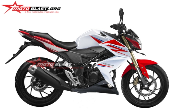 modifikasi New CB150R half fairing z250r