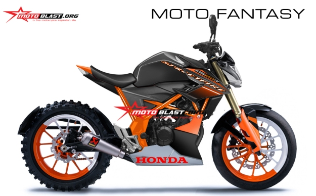 modifikasi fantasy honda new cb150r