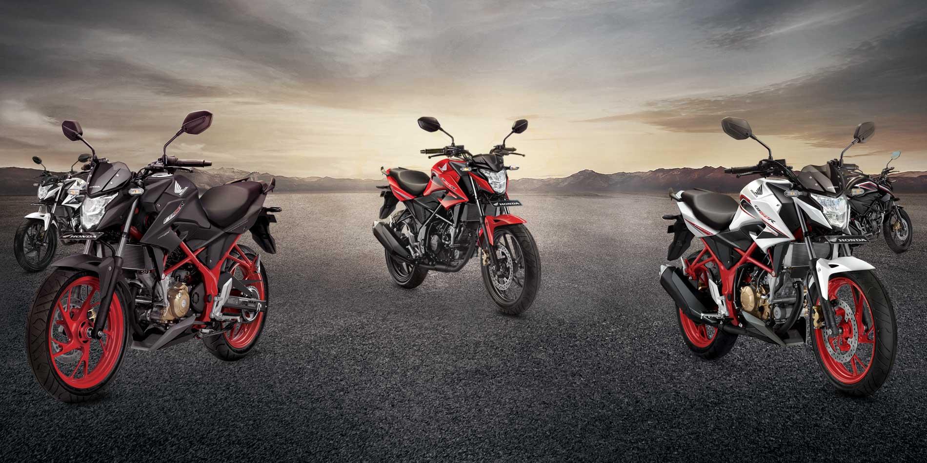 Foto Studio Honda New CB150R Special Edition Yang Hitam Doff Bikin