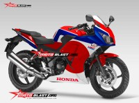 CBR250R NEW - JAPANESE FLAG