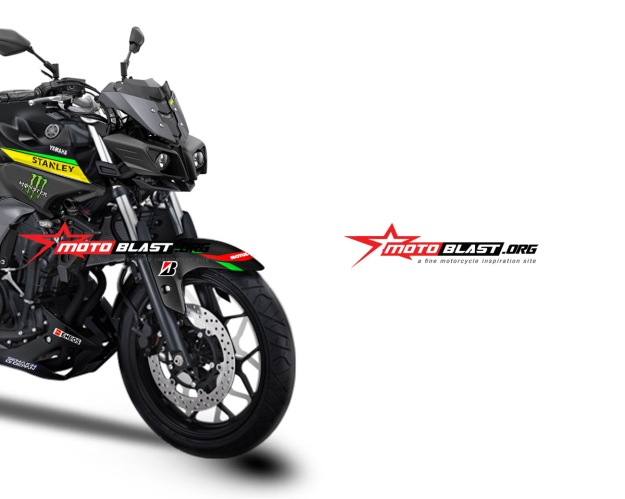 modifikasi Yamaha MT25 Headlamp MT-10