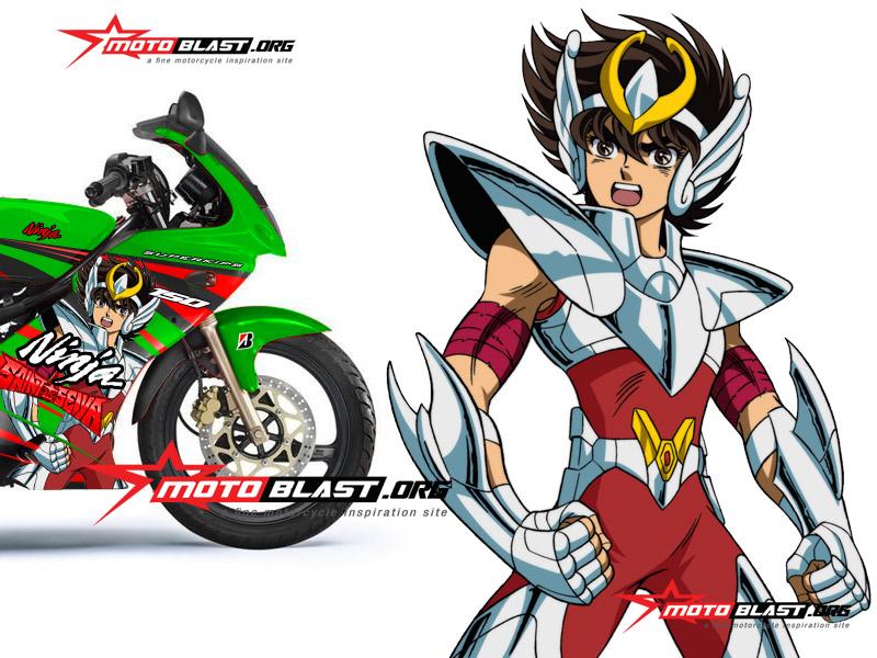 22 Top Konsep Gambar Motor Ninja Kartun