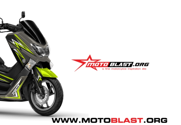 grafis inspirasi yamaha nmax gold green lemon thunder