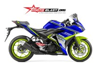 R25 biru speed master motoblast