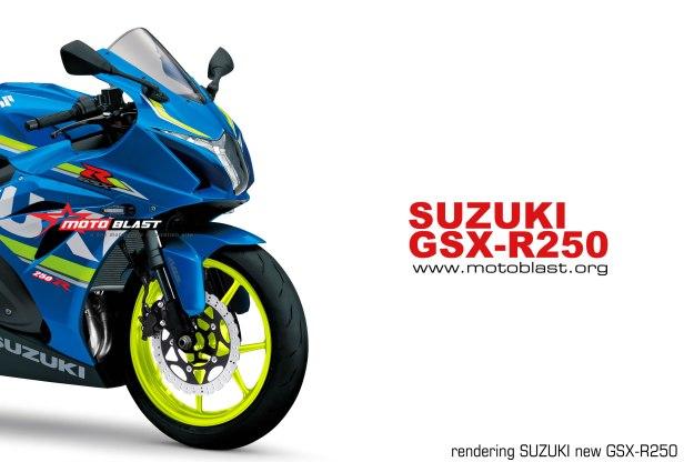 RENDERING GSX-R250-MOTOBLAST