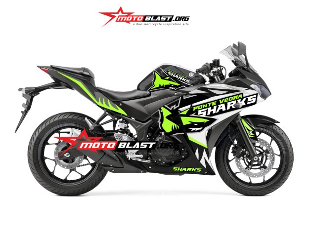 yamaha R3-SHARK-BLACK1