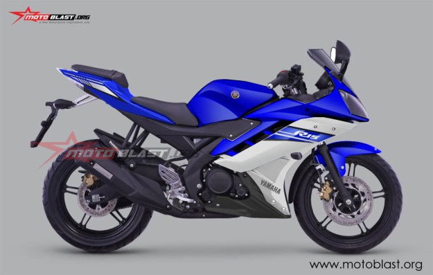 YZF R15 FACELIFT 2016-BLUE