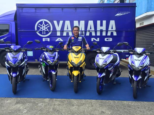 Yamaha Aerox 125 -Pak Abidin