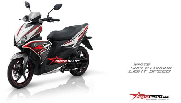 Modifikasi Yamaha AEROX 125 PUTIH