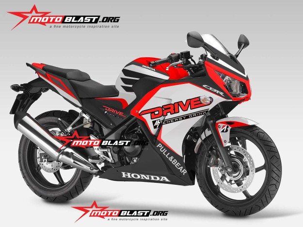 all new-honda-cbr250R-2014-DRIVE-RED VERSION