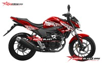 modifikasi honda CB150R RED HITECH2
