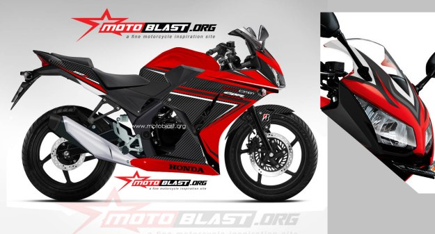 CBR-150R LOKAL-RED-SUPER CARBON NEW