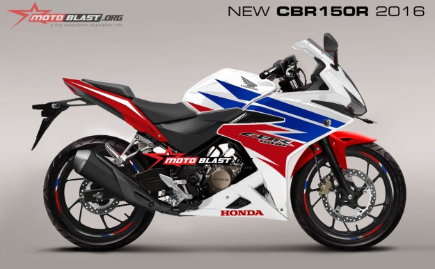 render next new cbr150r part 4