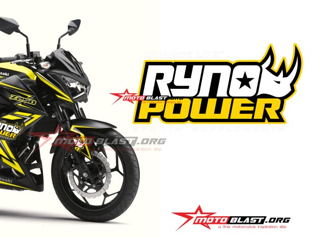 MODIF-STRIPING-Z250R-BLACK - RHYNO POWER2