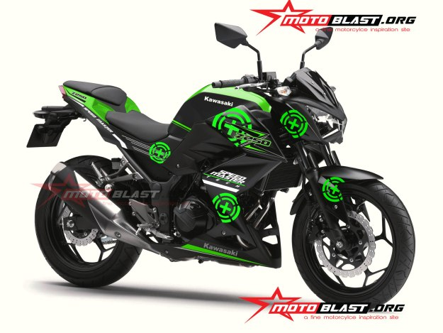MODIF-STRIPING-Z250R-GREEN-SPEEDMASTER