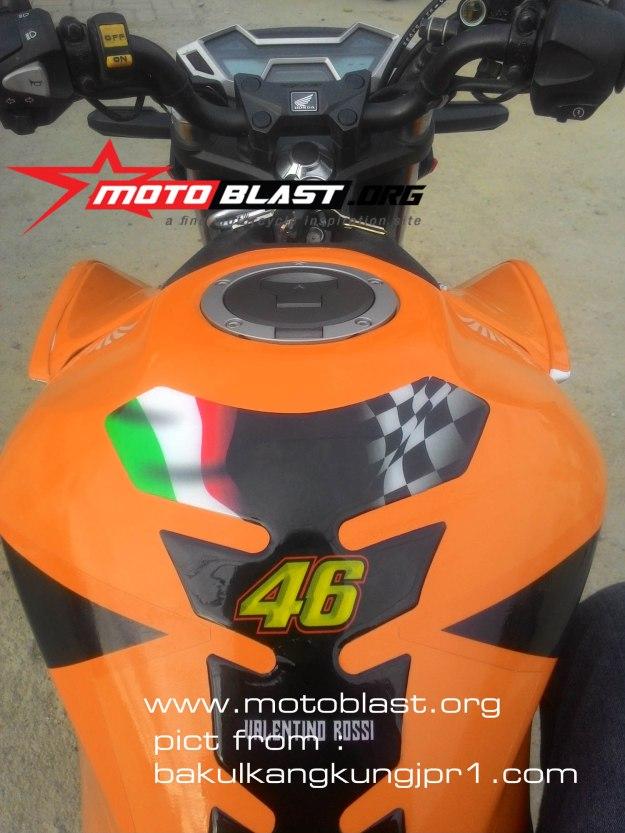 new cb150r special edition livery repsol motogp jayapura