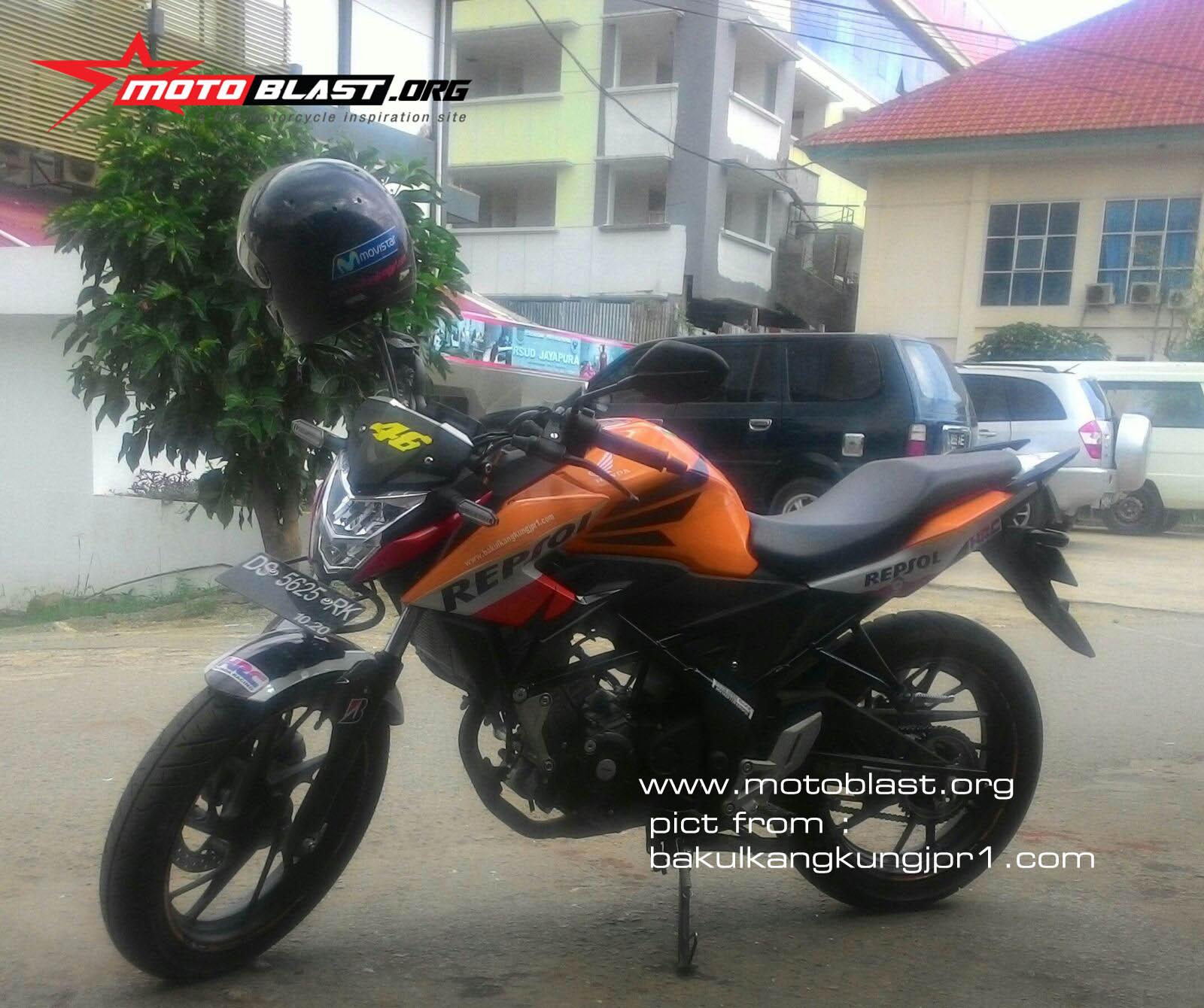 HOT All New CB150R Special Edition Livery Repsol Motogp Terjepret Di