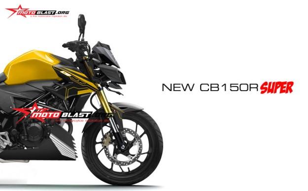 MODIFIKASI NEW CB150R SUPER