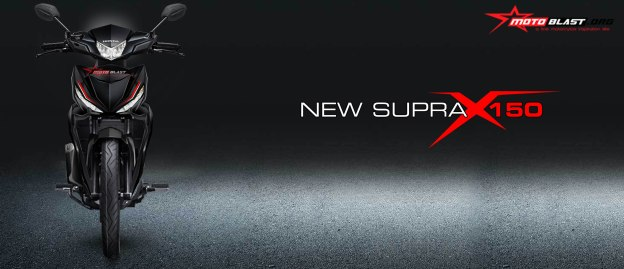 NEW SUPRA X 150 FRONT VIEW