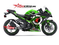 modifikasi ninja 250 GREEN JORGE LORENZO2b
