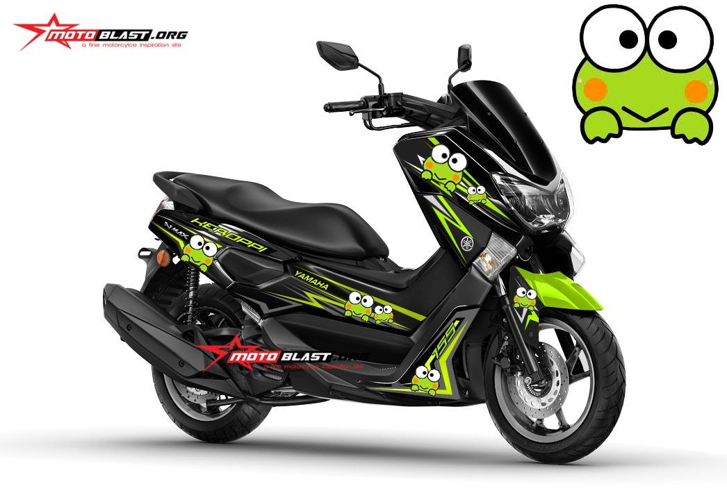 Modifikasi Yamaha Nmax Black - Keropi! | MOTOBLAST
