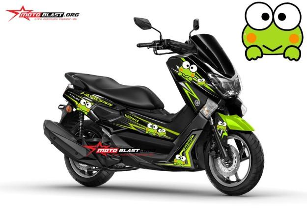 Modifikasi Yamaha Nmax Black – Keropi!  MOTOBLAST