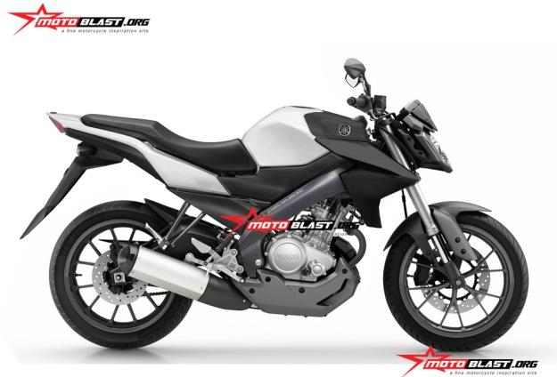 Modifikasi Yamaha Vixion ala MT-125
