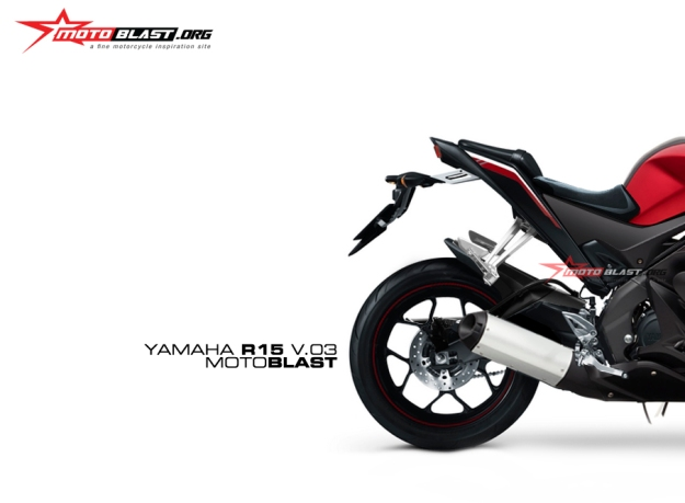 render Next new Yamaha R15 V.3