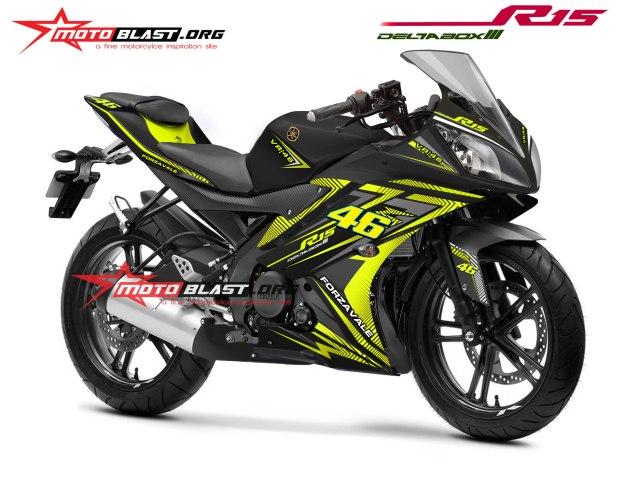 R15 FORZAVALE-BLACK
