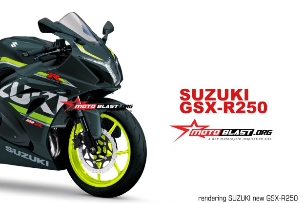 RENDERING GSX-R250-black version MOTOBLAST2