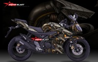 Modifikasi YZF R15 BLACK SUPER DRAGON FIRE